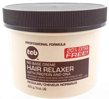TCB hair relaxer Regular in jar 255 g. (including 43 g. free)