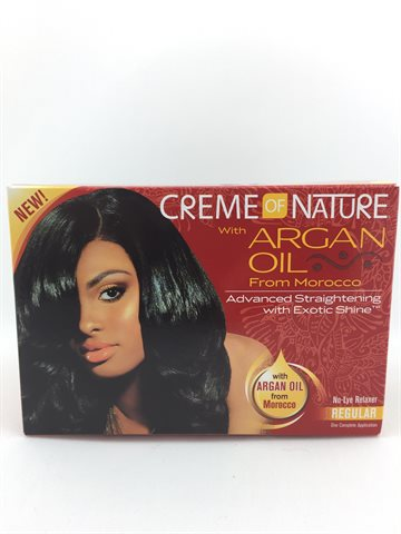 Cream of Nature Relaxer Regular with Argan Oil
