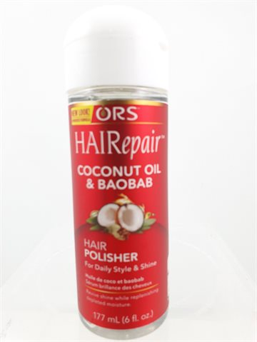 ORS Coconut oil & Baobab 177 ml.