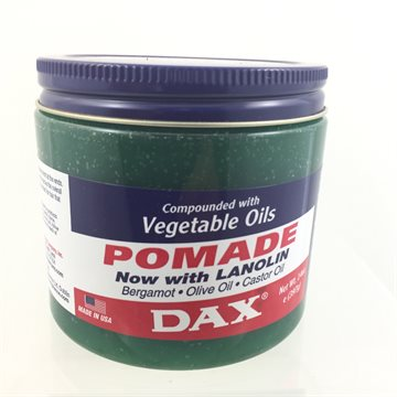Dax Vegetabale oils pomade for hair care. with Nalolin  221 gr (UDSOOLGT)