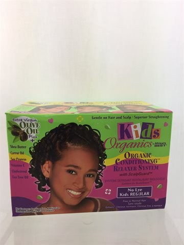 African Best Organics Olive Oil Relaxer Fine to Normal normal Hair