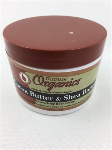 African Best Cocoa Butter & Shea Butter Moisturizing Body Cream 227 g.