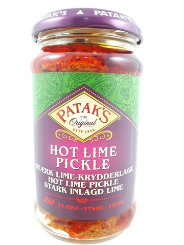 Hot Lime pickles pataks 285 Gr.