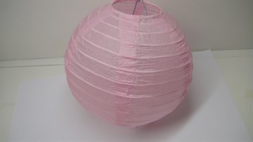 "Colourful Lantern Paper 6"" -  15cm Light pink"