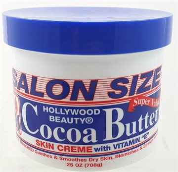 Hollywood Beauty Cocoa Butter skin Creme with Vitamin E 708g. for dry skin.