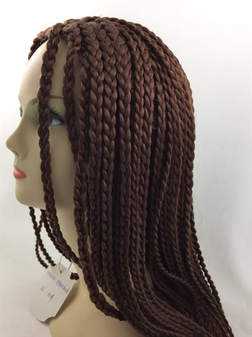 Wig in Braid 22 inches(55 cm) colour 30 Topaz
