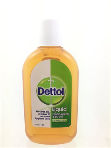Dettol Liquid for first aid 500 ml. (UDSOLGT)