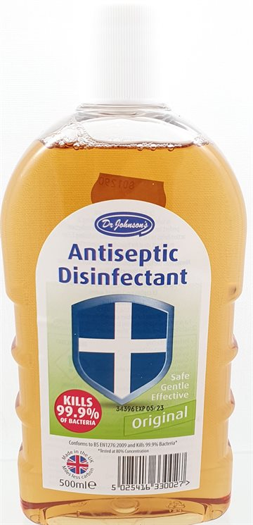 Antiseptic Disinfectant - Original kills 99,9% of Bacteria 500 ml