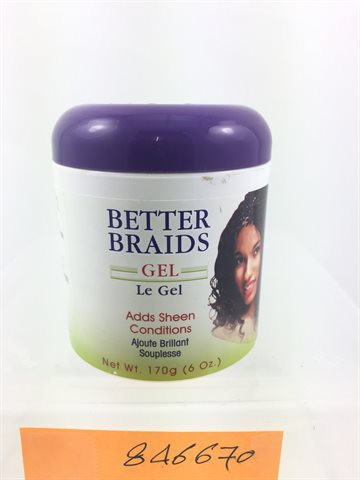 Better Braids Gel 170gr.