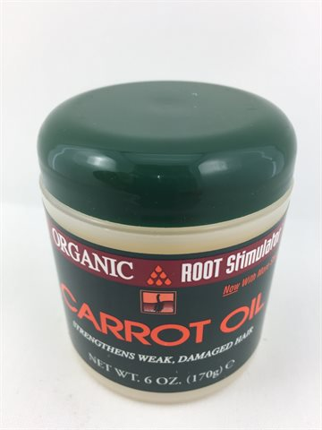 Org.Root st. Carrot OilStrengthens Weak, Damaged hair 170g.