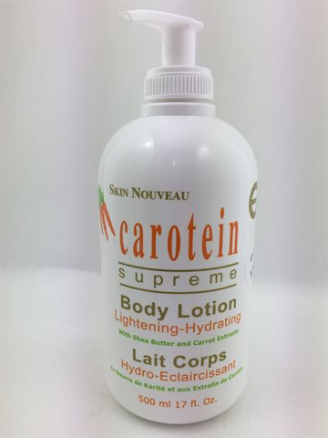 Skin Nouveau Carotein Lightning -Hydrating Body Lotion 500 Ml.