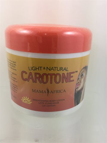 Caratone Light & Natural Brightnig Body lotion 450 gr