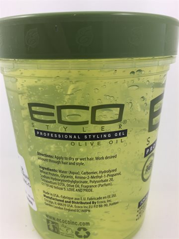 ECO Professional Styling Gel Olive Oil 946 ml.