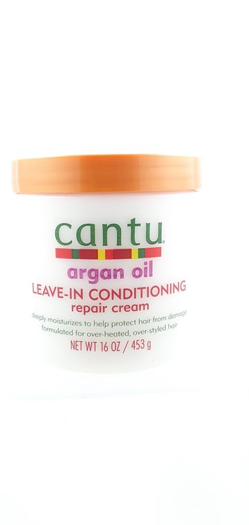 Cantu Argan oil for Natural Hair. Leave in Conditioning Repair Cream 453 G.