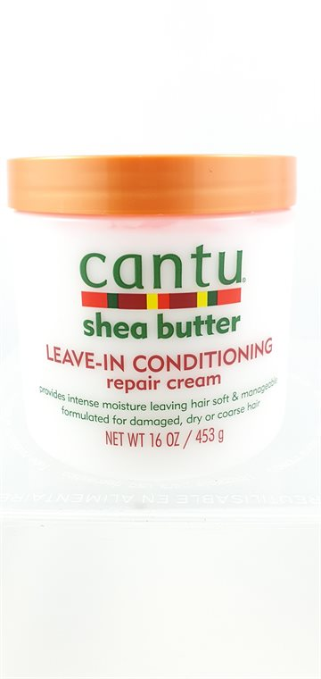 Cantu Natural Hair. Leave in Conditioning Repair Cream 453 G.