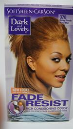 Dark & Lovely hair color Honey Blonde 378