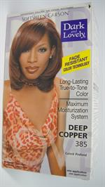 Dark & Lovely Hair Color deep copper 385 (UDSOLGT)