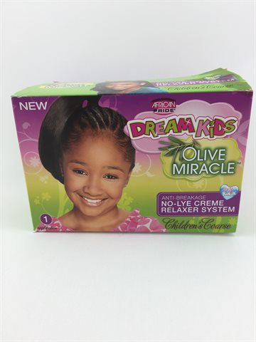 African Pride Olive Miracle Children Relaxer Coarse